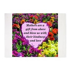 MOTHERS BLESSING 5'x7'Area Rug