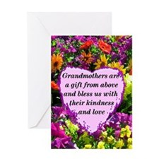 BLESSED GRANDMA Greeting Card