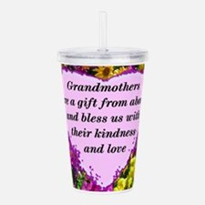 BLESSED GRANDMA Acrylic Double-wall Tumbler