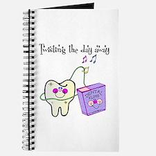Twistin the Day Away Journal
