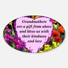 BLESSED GRANDMA Decal
