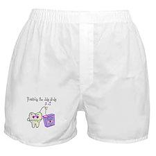 Twistin the Day Away Boxer Shorts