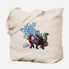 Holiday Avengers Tote Bag