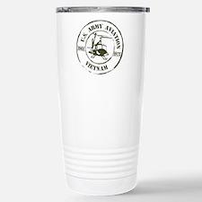 Army Aviation Vietnam Stainless Steel Travel Mug