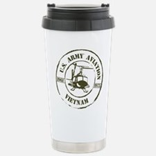 Army Aviation Vietnam Travel Mug