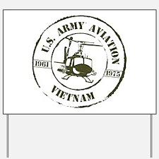 Army Aviation Vietnam Yard Sign