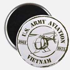 Army Aviation Vietnam Magnet