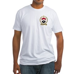 ARSENEAULT Family Crest Fitted T-Shirt