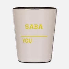Funny Saba Shot Glass