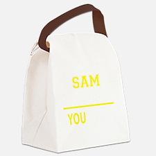 Cute Sam Canvas Lunch Bag