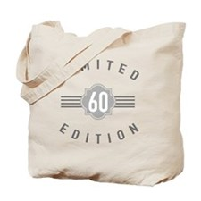 60th Birthday Limited Edition Tote Bag