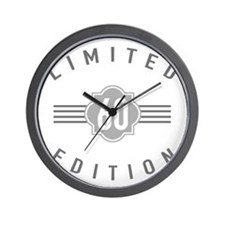 60th Birthday Limited Edition Wall Clock
