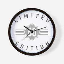 60th Birthday Limited Edition Wall Clock