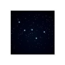 Cassiopeia Constellation Sticker