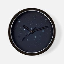 Cassiopeia Constellation Wall Clock