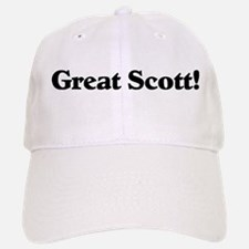 Great Scott (black) Baseball Baseball Cap