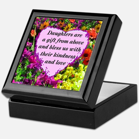 BLESSED DAUGHTER Keepsake Box