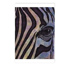 Sunset Zebra Postcards (package Of 8)
