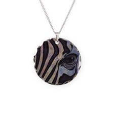 Sunset Zebra Necklace