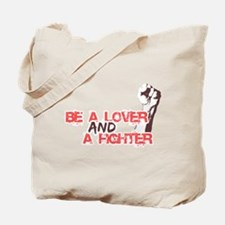 Lover and Fighter Tote Bag