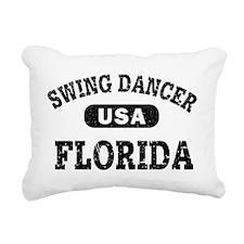 Funny Swing dancing Rectangular Canvas Pillow