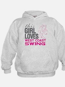 This Girl Loves West Coast Swing Hoodie