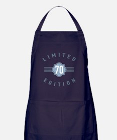 70th Birthday Limited Edition Apron (dark)