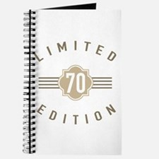 70th Birthday Limited Edition Journal