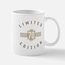70th Birthday Limited Edition Mugs