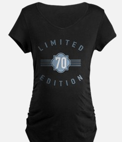 70th Birthday Limited Edition Maternity T-Shirt