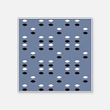 Grey Almond Eye Shapes 42 Sticker