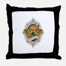 Magna Scientia Throw Pillow