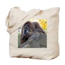 Thoughtful Orangutan Tote Bag