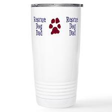 Cute Rescue dog dad Travel Mug
