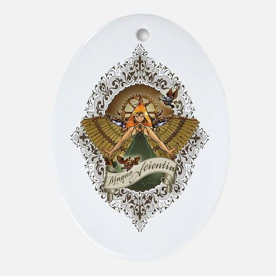 Magna Scientia Ornament (oval)