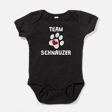 Team Schnauzer Baby Bodysuit