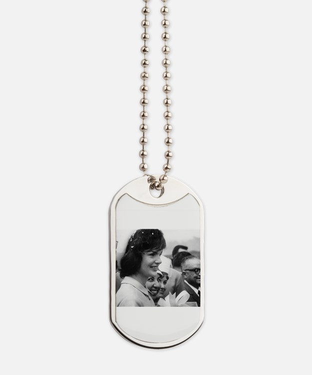 jackie kennedy Dog Tags