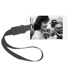 jackie kennedy Luggage Tag
