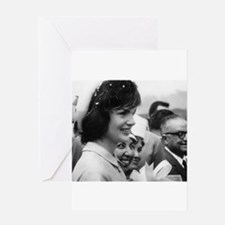 jackie kennedy Greeting Cards