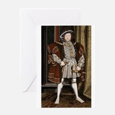 henry the eighth Greeting Cards