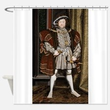 henry the eighth Shower Curtain