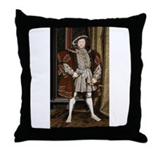 henry the eighth Throw Pillow
