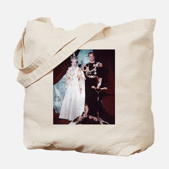 queen elizabeth the second Tote Bag