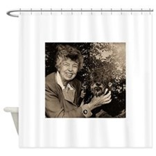 eleanor,roosevelt Shower Curtain