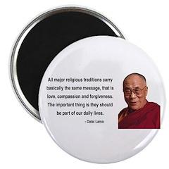 """Dalai Lama 5 2.25"""" Magnet (10 pack)"""