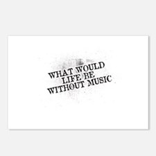 What Would Life Be Without Music Postcards (Packag