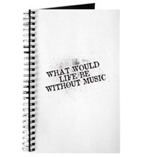 What Would Life Be Without Music Journal