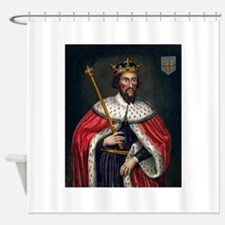 alfred the great Shower Curtain