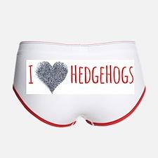 I Heart Headgehogs Women's Boy Brief