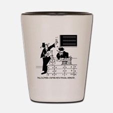 """Philosophy Cartoon 6047 Shot Glass"